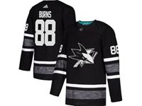 Mens Adidas Nhl San Jose Sharks #88 Brent Burns Black 2019 All Star Jersey