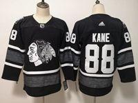 Mens Adidas Nhl Chicago Blackhawks #88 Patrick Kane Black 2019 All Star Jersey