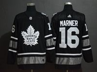 Mens Adidas Nhl Toronto Maple Leafs #16 Mitch Marner Black 2019 All Star Jersey