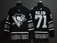 Mens Adidas Nhl Pittsburgh Penguins #71 Evgeni Malkin Black 2019 All Star Jersey