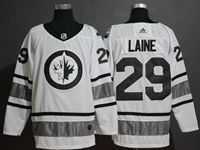 Mens Adidas Nhl Winnipeg Jets #29 Patrik Laine White 2019 All Star Jersey
