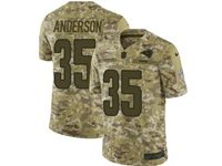 Mens Nfl St. Louis Rams #35 C.j. Anderson Camo Salute To Service Limited Jersey