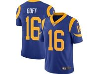 Mens Nfl St.louis Rams #16 Jared Goff Light Blue 2019 Super Bowl Liii Bound Vapor Untouchable Limited Jersey
