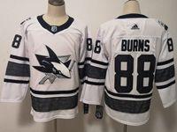 Mens Adidas Nhl San Jose Sharks #88 Brent Burns White 2019 All Star Jersey