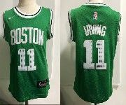 Kids Nba Boston Celtics #11 Kyrie Irving Nike Green Jersey
