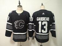 Mens Nhl Calgary Flames #13 Johnny Gaudreau Adidas Black 2019 All Star Jersey