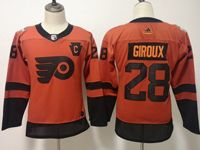 Youth Nhl Philadelphia Flyers #28 Claude Giroux Orange 2019 Stadium Series Adidas Jersey