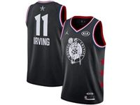 Mens Nba Boston Celtics #11 Kyrie Irving Black 2019 All-star Jordan Brand Swingman Jersey