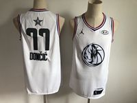 Mens Nba Dallas Mavericks #77 Luka Doncic White 2019 All-star Jordan Brand Swingman Jersey
