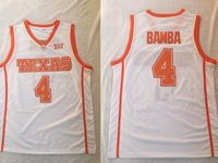 Mens Ncaa Nba Texas Longhorns #4 Bamba White Jersey