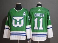 Mens Nhl Hartford Whalers #11 Dineen Green Adidas Jersey
