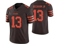 Mens Women Youth Nfl Cleveland Browns #13 Odell Beckham Jr Brown Color Rush Vapor Untouchable Limited Nike Jersey