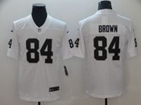 Mens Nfl Oakland Raiders #84 Antonio Brown White Vapor Untouchable Limited Player Jersey