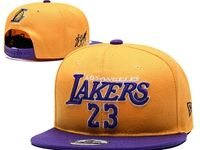 Mens Nba Los Angeles Lakers Yellow Hats