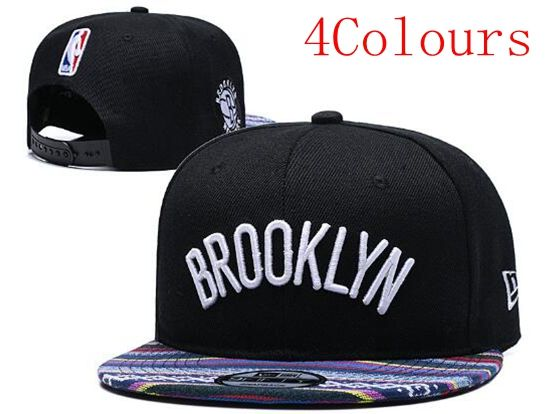 Mens Nba Brooklyn Nets Black Hats (5 Colours)