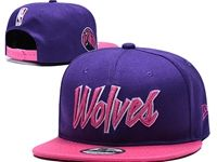 Mens Nba Minnesota Timberwolves Purple Hats