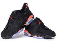 Men Nike Air Jordan 6  Basketball Shoes Clour Black