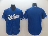 Mens Mlb Los Angeles Dodgers Blank Blue Cool Base Jersey