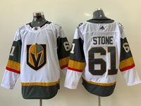 Mens Nhl Vegas Golden Knights #61 Mark Stone White Awat Adidas Jersey