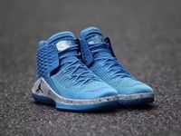 Mens Air Jordan 32 Unc Basketball Shoes Colour Blue