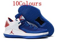 Mens Air Jordan 32 Lower Basketball Shoes 10 Colours