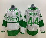 Mens Nhl Toronto Maple Leafs #44 Morgan Rielly Adidas St. Pats Adidas Authentic White Jersey