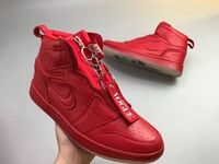Womens Air Jordan 1 Mid Zip Awok Red Boots Nike Shoes