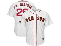 Mens Mlb Boston Red Sox #28 J.d.martinez White 2019 Gold Program Cool Base Player Jersey