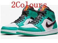 Mens Air Jordan 1 Mid Aj1 Basketball Shoes 2 Colours
