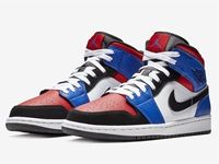 Men And Women Nike Air Jordan 1 Mid Aj1 Top3 Basketball Shoes