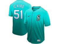 Mens Mlb Seattle Mariners #51 Ichiro Suzuki Green Nike Drift Cool Base Jersey