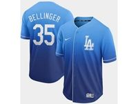Mens Mlb Los Angeles Dodgers #35 Cody Bellinger Blue Nike Drift Cool Base Jersey