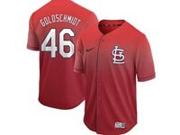 Mens Mlb St.louis Cardinals #46 Paul Goldschmidt Red Nike Drift Cool Base Jersey