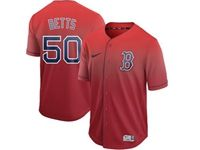 Mens Mlb Boston Red Sox #50 Mookie Betts Red Nike Drift Cool Base Jersey