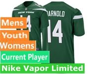 2019 Mens Women Youth Nfl New York Jets Green Nike Vapor Limited Current Player Jersey