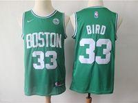 Mens Nba Boston Celtics #33 Larry Bird Green Swingman Nike Jersey