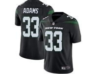 2019 Mens Women Youth Nfl New York Jets #33 Jamal Adams Black Nike Vapor Limited Jersey