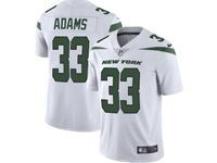 2019 Mens Women Youth Nfl New York Jets #33 Jamal Adams White Nike Vapor Limited Jersey
