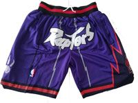 Mens Nba Toronto Raptors Pruple Nike Just Do Pocket Shorts