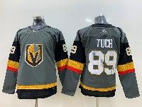 Women Vegas Golden Knights #89 Alex Tuch Gray Adidas Jersey