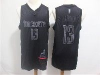 Mens Nba Houston Rockets #13 James Harden 2019 New Black Mvp Honorary Edition Jersey