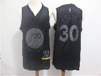 Mens Nba Golden State Warriors #30 Stephen Curry 2019 New Black Mvp Honorary Edition Jersey
