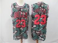 Mens Nba Chicago Bulls #23 Michael Jordan Camo Hardwood Classics Mitchell&ness Jersey