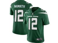 2019 Mens Women Youth Nfl New York Jets #12 Joe Namath Green Nike Vapor Limited Jersey