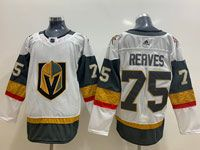 Mens Nhl Vegas Golden Knights  #75 Ryan Reaves White Adidas Jersey