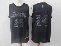 New Mens Nba Los Angeles Lakers #24 Kobe Bryant Black 2019 New Black Mvp Honorary Edition Jersey