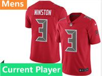 Mens Nfl Tampa Bay Buccaneers Red Vapor Untouchable Color Rush Limited Current Player Jersey