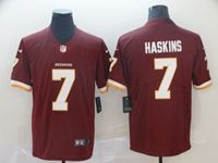 Mens Nfl Washington Redskins #7 Dwayne Haskins Red Nike 2019 Draft First Round Pick Game Jersey