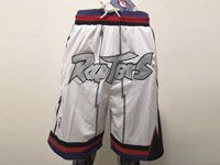 Mens Nba Toronto Raptors White Nike Just Do Pocket Shorts