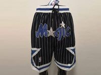 Mens Nba Orlando Magic Black Nike Just Do Pocket Shorts